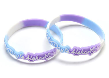 China Glow In The Dark Rubber Bracelets Personalized Custom Sports Bracelets supplier