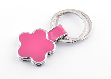 China Customized Shape Engraved Metal Keychains Zinc Alloy Die Casting Process supplier