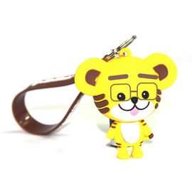China Custom PVC Figure Keychain Movie Disney Small Figures Keyring Mini Pendant Christmas Halloween Birthday Gifts supplier
