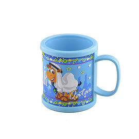 Plastic 3D Soft Touch PVC Mug with Embossed  Camel Design For Qatar Touristic Travel Destination Souvenir