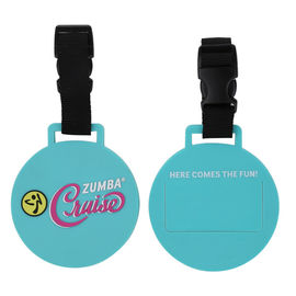 China Promotional Cruise Luggage Tag Made Of Washable Soft Touch PVC Rubber Material, Non-Toxic and Odorless factory