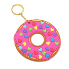 Promotional Custom 3D Relief Soft Touch PVC Rubber Keychains, Non-toxic and Odorless Rubber Keychians