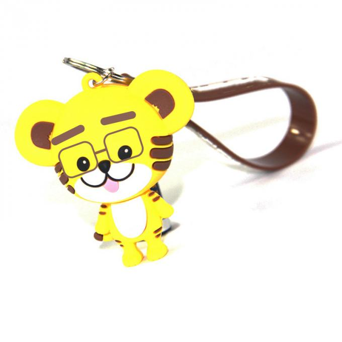 Custom PVC Figure Keychain Movie Disney Small Figures Keyring Mini Pendant Christmas Halloween Birthday Gifts