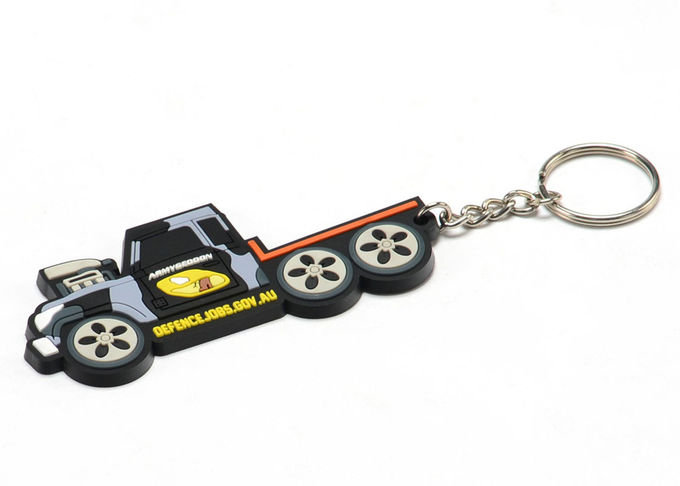 Advertising Promotional Gifts Personalized Soft Touch PVC Rubber Keychains With 2D/3D Moulded or Printed Custom Logo